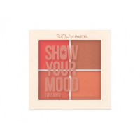 Trusa Blush 4 nuante Pastel Show Your Mood 442 Dreamy